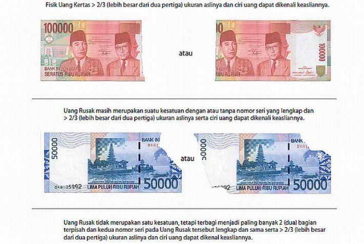 Menukar Uang Rusak di Bank Indonesia