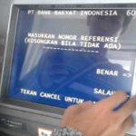 Jika Transfer uang lewat ATM gagal tapi saldo direkening berkurang
