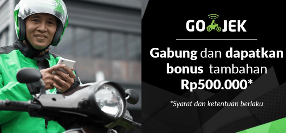 Bonus untuk Driver Gojek