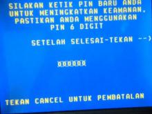 Ganti PIN ATM Mandiri
