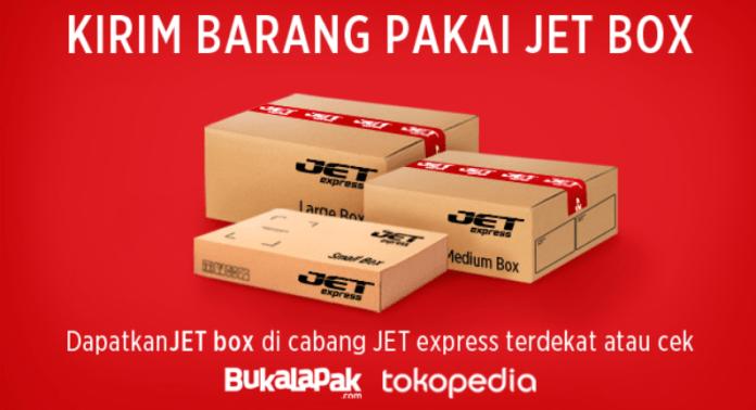 Kirim Paket Pakai JET BOX
