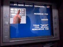 Salah Masukan PIN ATM