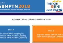 Biaya dan Syarat Daftar SBMPTN 2018