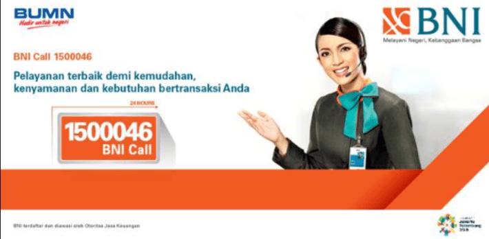 Call Center 24 Jam BNI