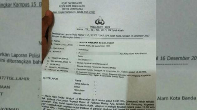 surat keterangan hilang polisi