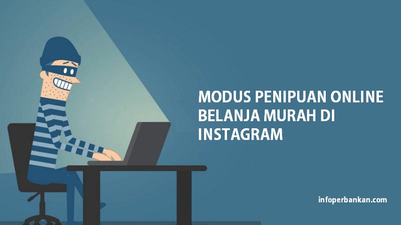 modus penipuan instagram