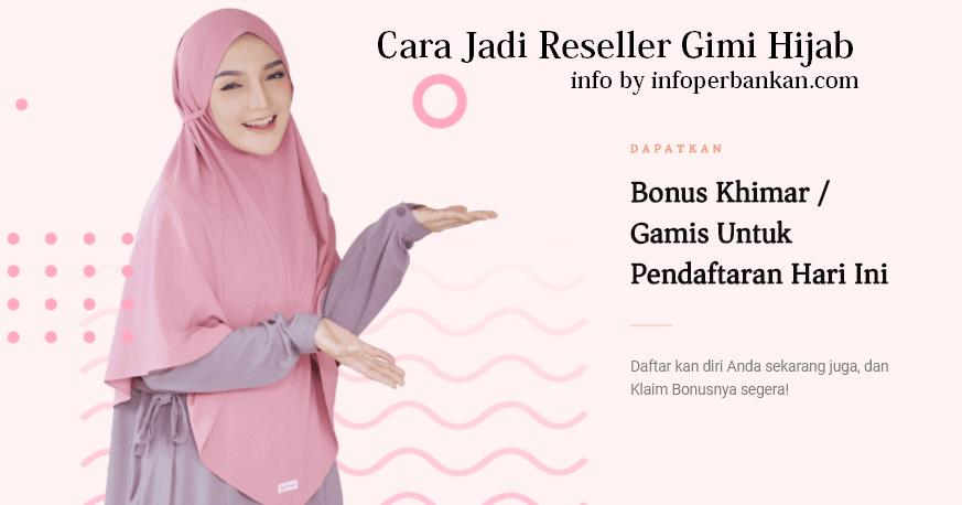 cara jadi reseller gimi hijab