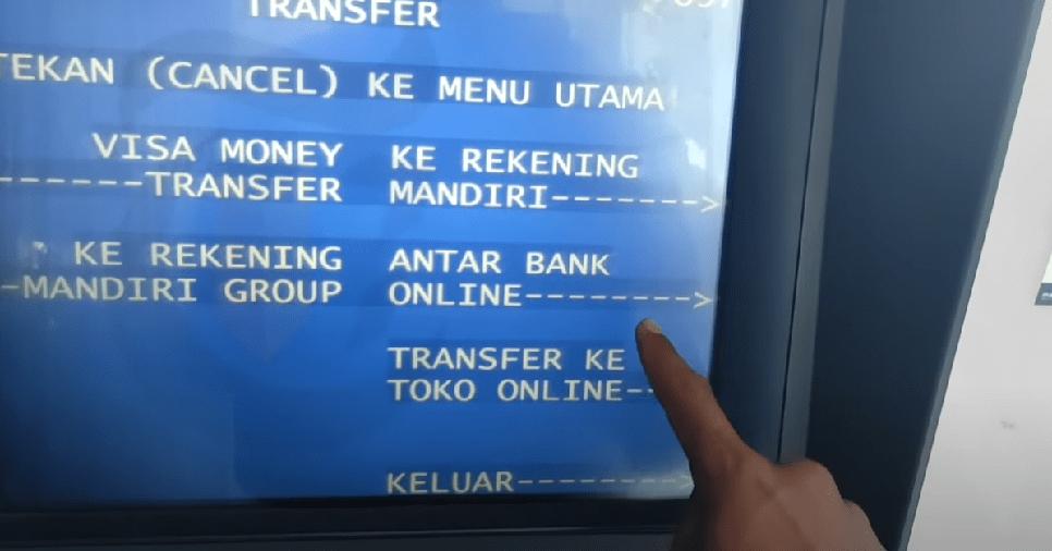 transfer uang dari mandiri ke bri
