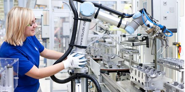 Resultado de imagen de robot colaborativo