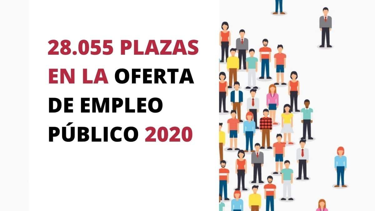 Consulta todos los detalles sobre la oferta de empleo público para 2020