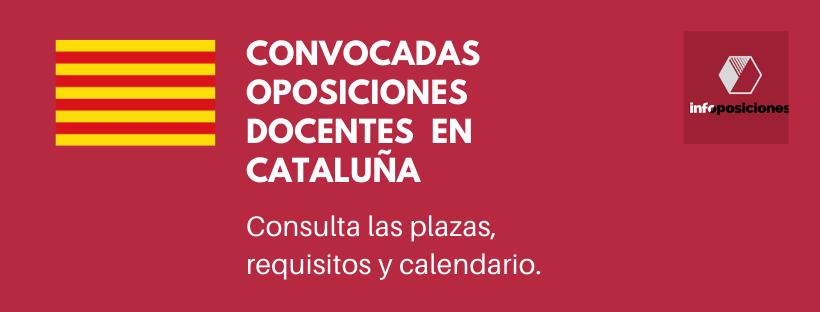 Oposiciones de Secundaria en Cataluña 2020: todo lo que debes saber