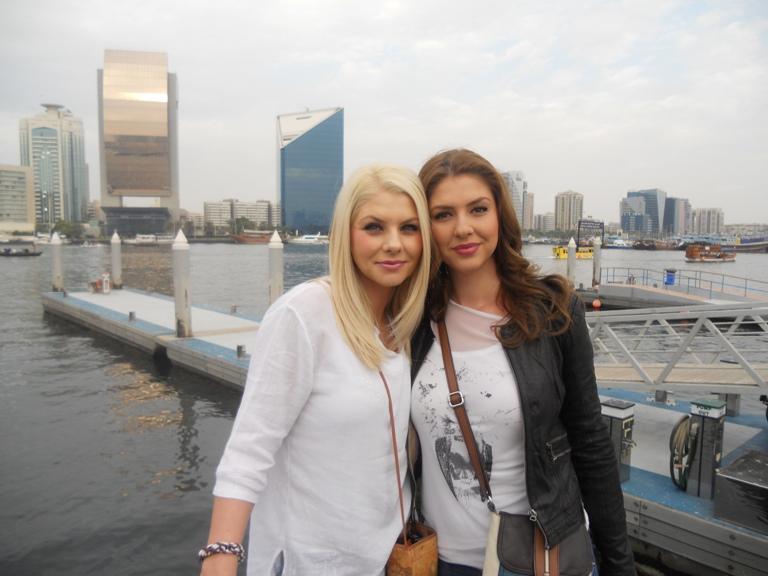 Adina si Roxana de la Heaven o saptamana in Dubai