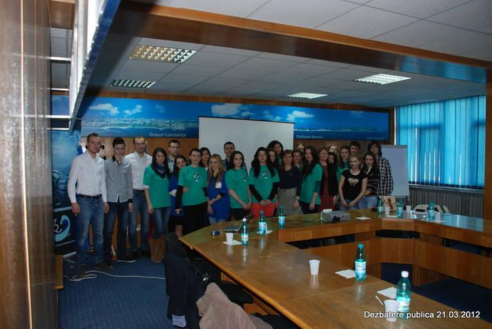 Elevii, studentii si ONG-urile au sarbatorit Ziua Mondiale a Apei alaturi de Administratia Bazinala