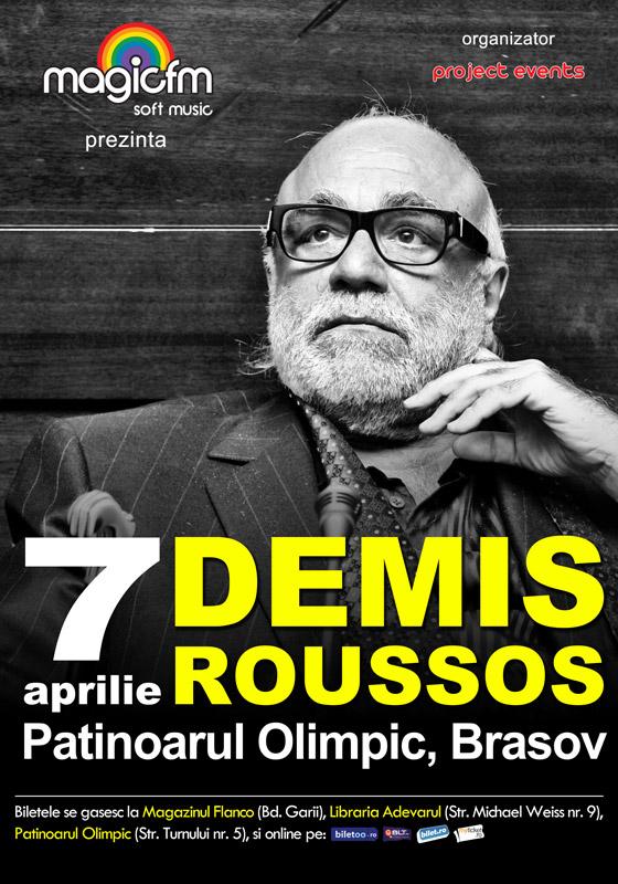 Brasovul se pregateste sa il intampine pe Demis Roussos!