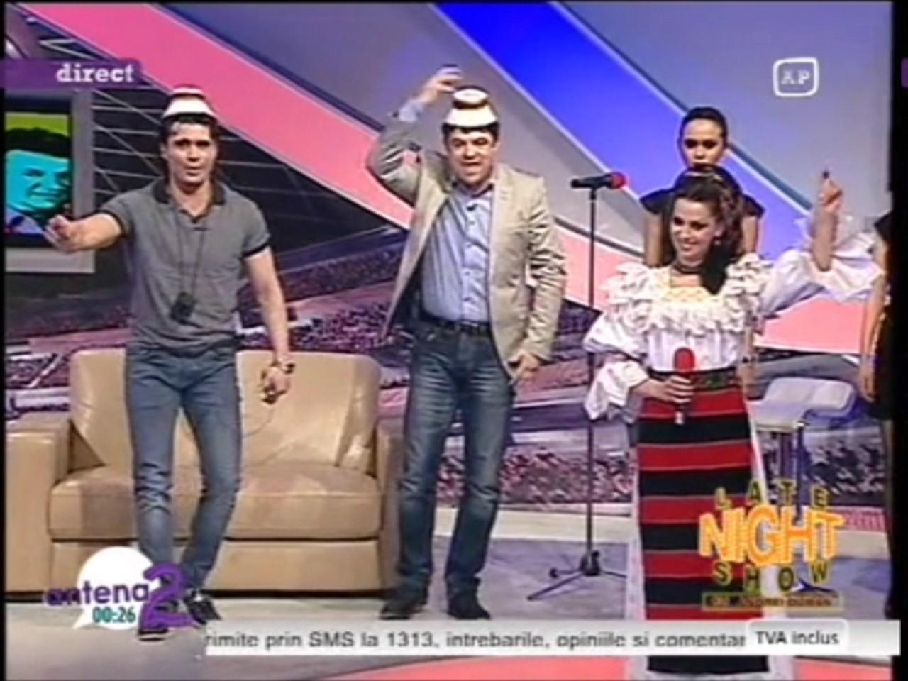 Un nou featuring? Maria Luiza Mih i-a  pus clopul pe cap lui Pepe!