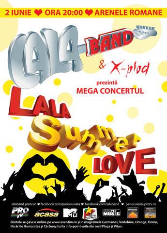"LaLa Band pregateste mega concertul ""LaLa Summer Love""!"