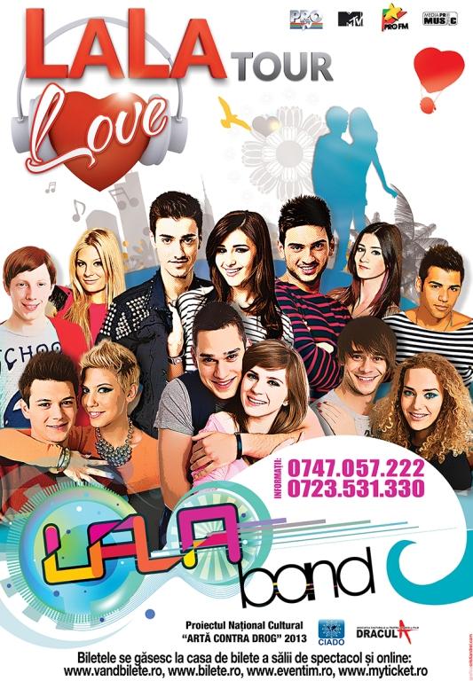 La cererea publicului, LaLa Band sustine un nou concert, pe 16 martie, la Casa de Cultura a Sindicatelor din Constanta