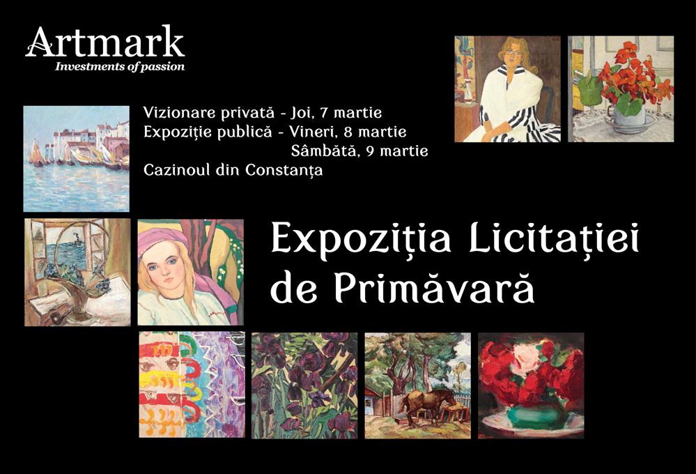 Expozitia Licitatiei de Primavara trezeste la viata Cazinoul din Constanta
