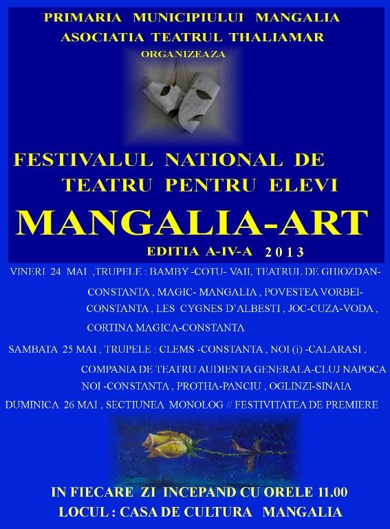 Festivalul național de teatru pentru elevi Mangalia-Art