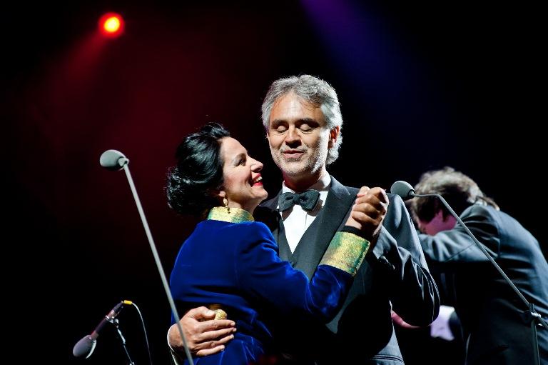 Andrea Bocelli si Angela Gheorghiu au pus Bucurestiul pe harta mondiala a muzicii culte