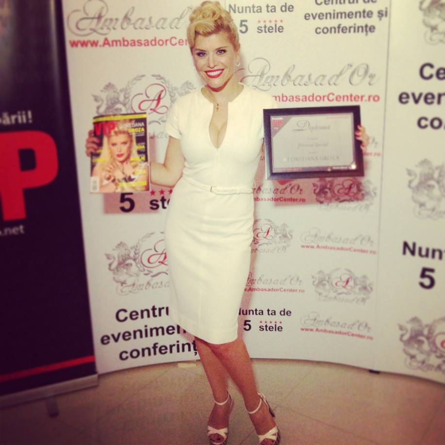 Loredana a fost premiata pentru promovarea Romaniei in lume!