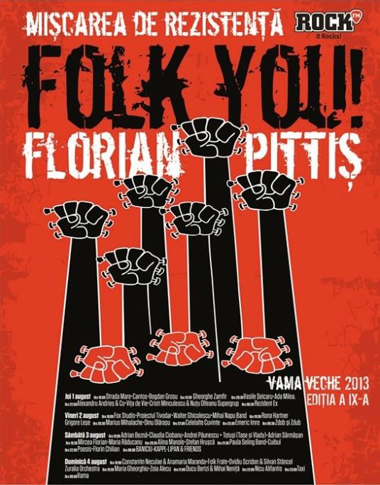 """""""Folk You! Florian Pitiş"""", ediţia a IX-a, la start!"""