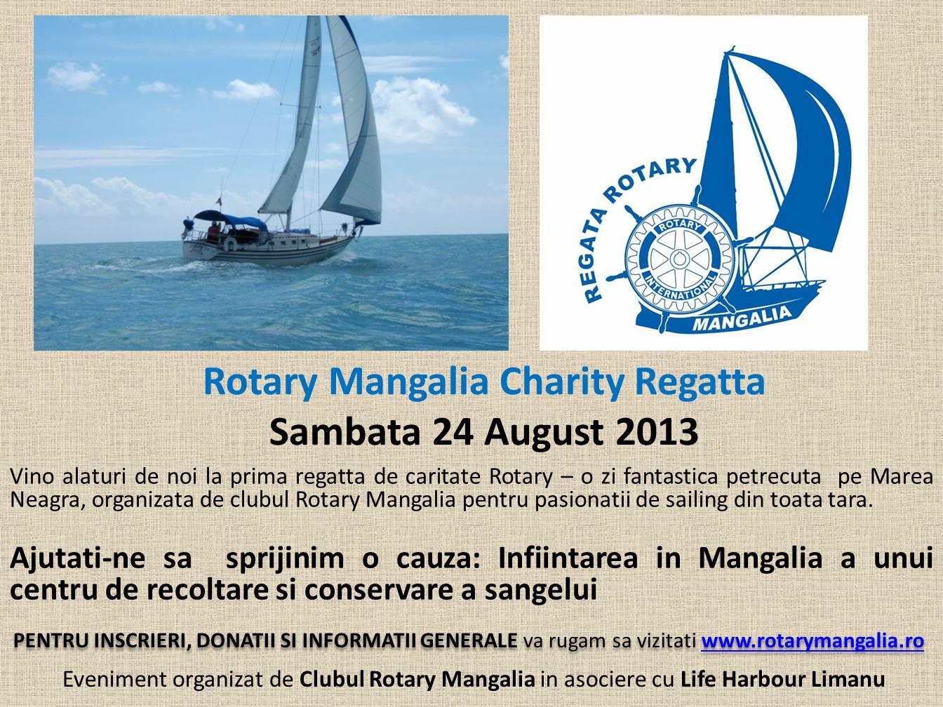 Regata de caritate Rotary Mangalia