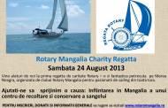 Regată în scop umanitar la Mangalia