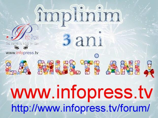 La Multi Ani, InfoPress Tv Romania!