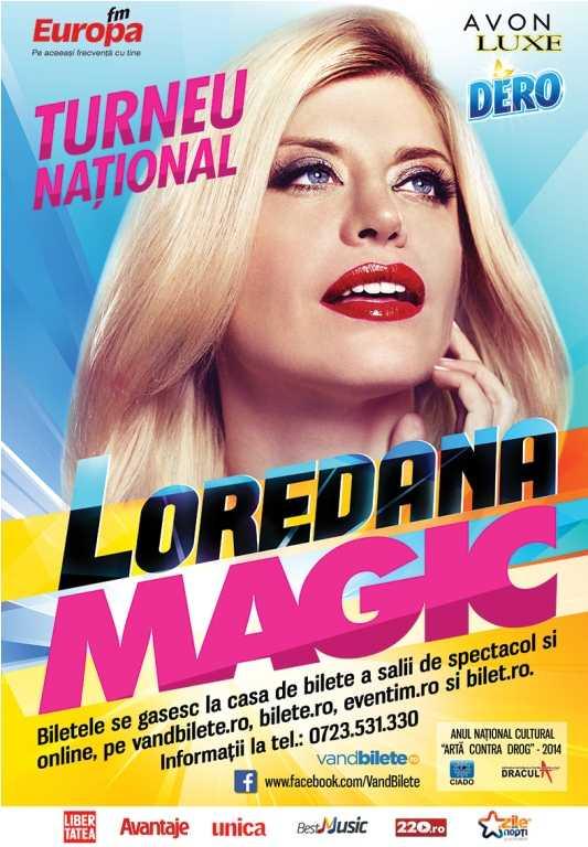 Loredana – Un concert Magic la Casa de Cultura din Constanta