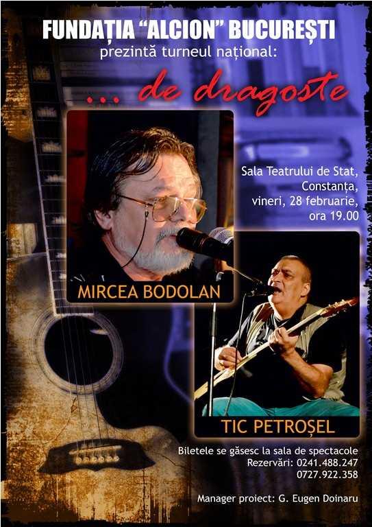 Mircea Bodolan şi Tic Petroşel la Teatrul de Stat Constanța