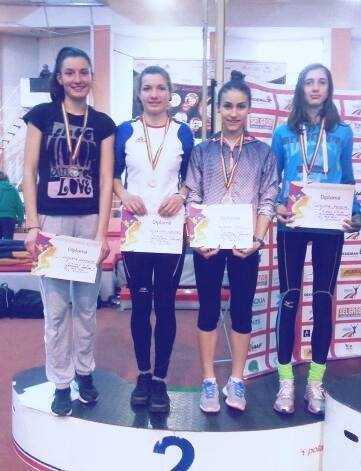 Juniorii constanteni medaliati  la Campionatele Nationale de atletism