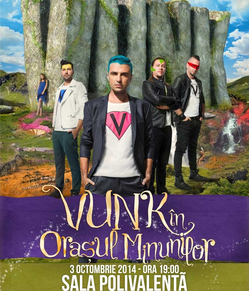 Trupa Vunk are propriul oras