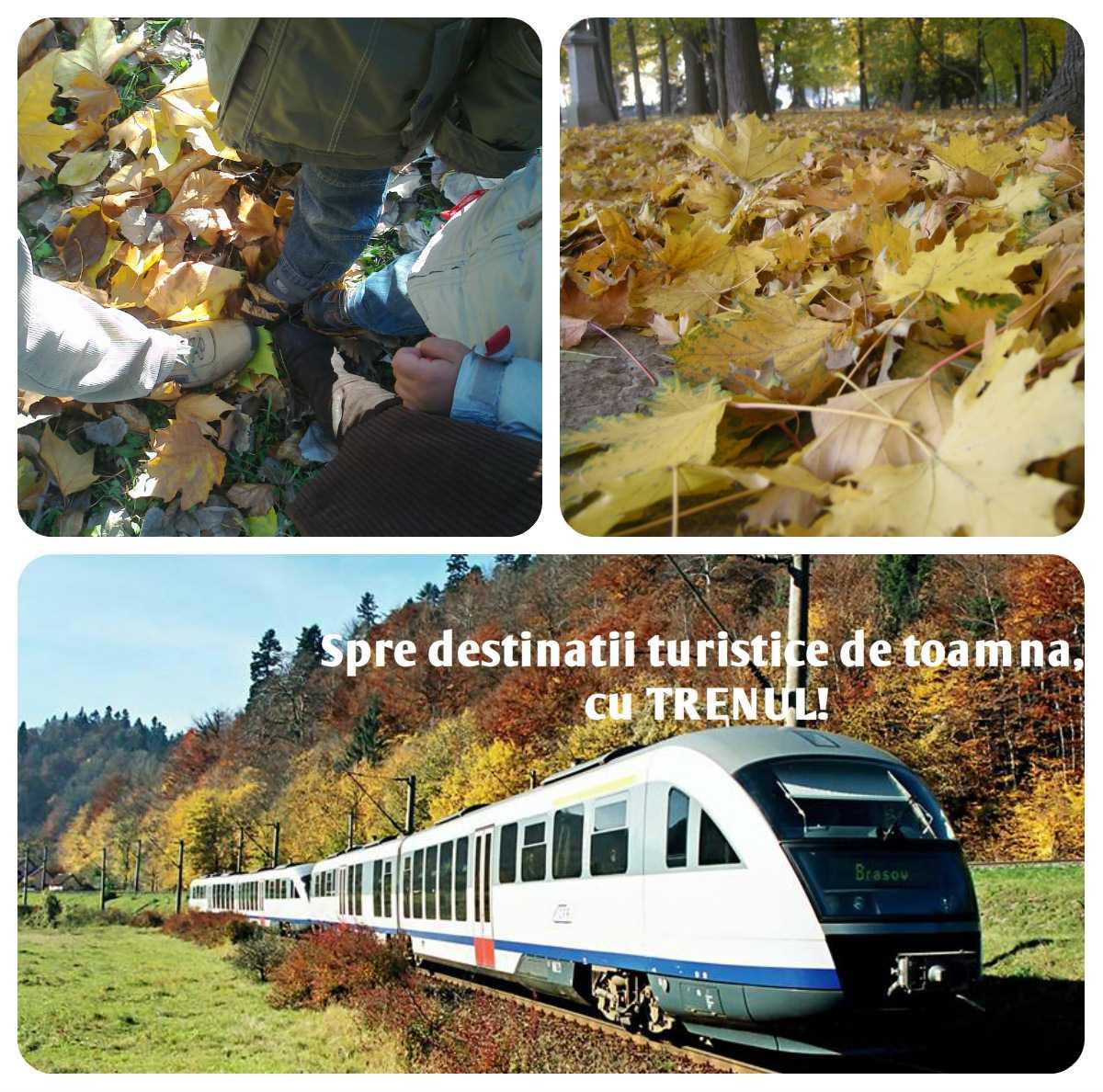 Spre destinaţii turistice de toamnă, cu trenul!