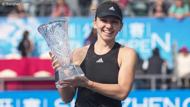 Simona Halep a castigat turneul de la Shenzhen