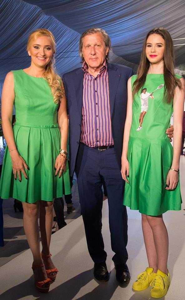 Chipul lui Ilie Năstase, pe rochiile de la Bucharest Fashion!