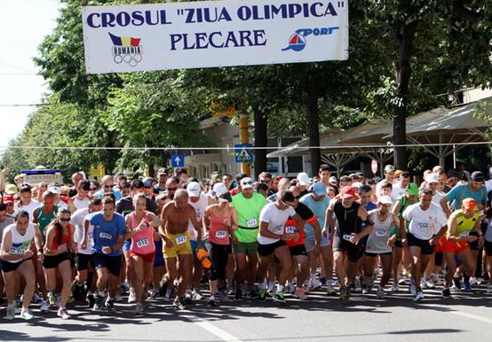 Start Constanta in Crosul Ziua Olimpica 2015