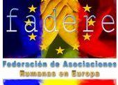 Federația asociațiilor de români din Europa, cere demisia domnului Vasile Giurea