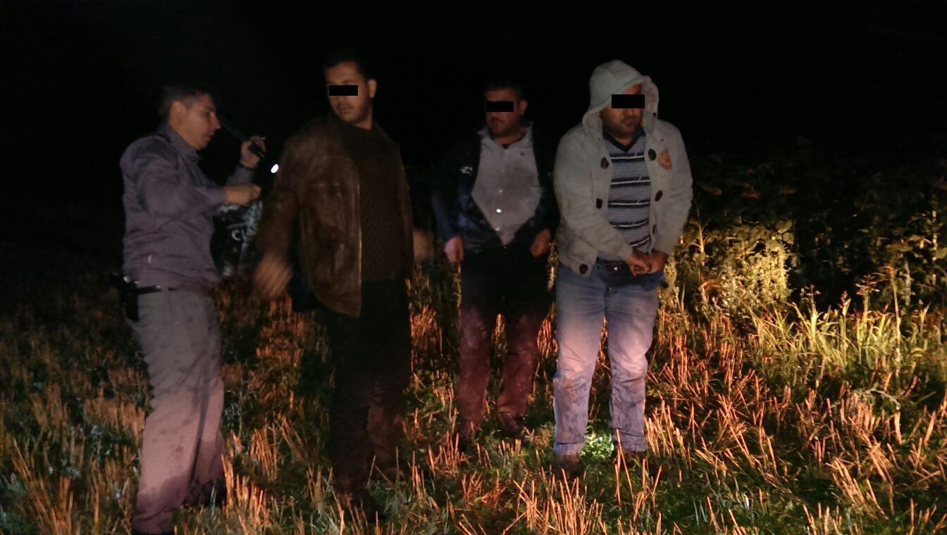 Sase persoane , trecind  ilegal frontiera de stat , depistate de poliţiştii de frontieră constănţeni