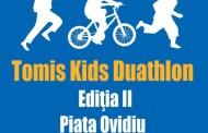 Tomis Kids Duathlon revine în Piaţa Ovidiu din Constanţa