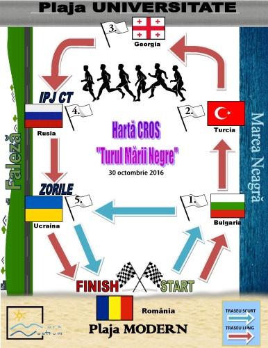 """Cros Turul Mării Negre – """"Aleargă pentru o mare curată!"""""""