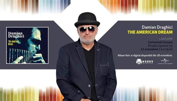 Damian Draghici lansează albumul de muzică jazz -
