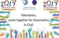 Se caută voluntari pentru Campionatele Europene de gimnastica de la Cluj, 17-23 aprilie 2017