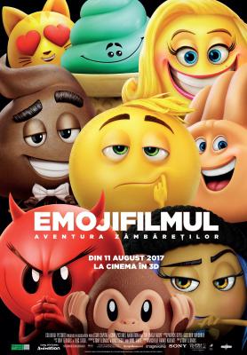 """Începe """"EmojiFilmul: Aventura Zâmbăreților""""!"""