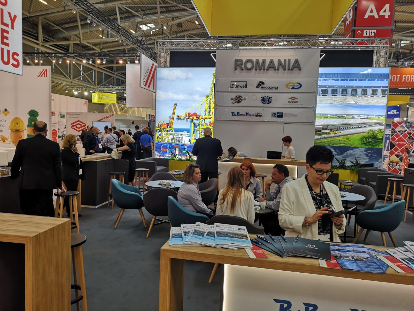 Portul Constanța alături de toți actorii importanți din transporturi, la evenimentul Transport Logistic