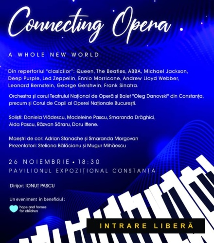 "Concert ""Connecting Opera - A Whole New World"""