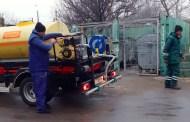Igienizarea platformelor de deșeuri