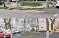 Alei pietonale și parcare rezidențială pentru locuitorii din cartierul Abator
