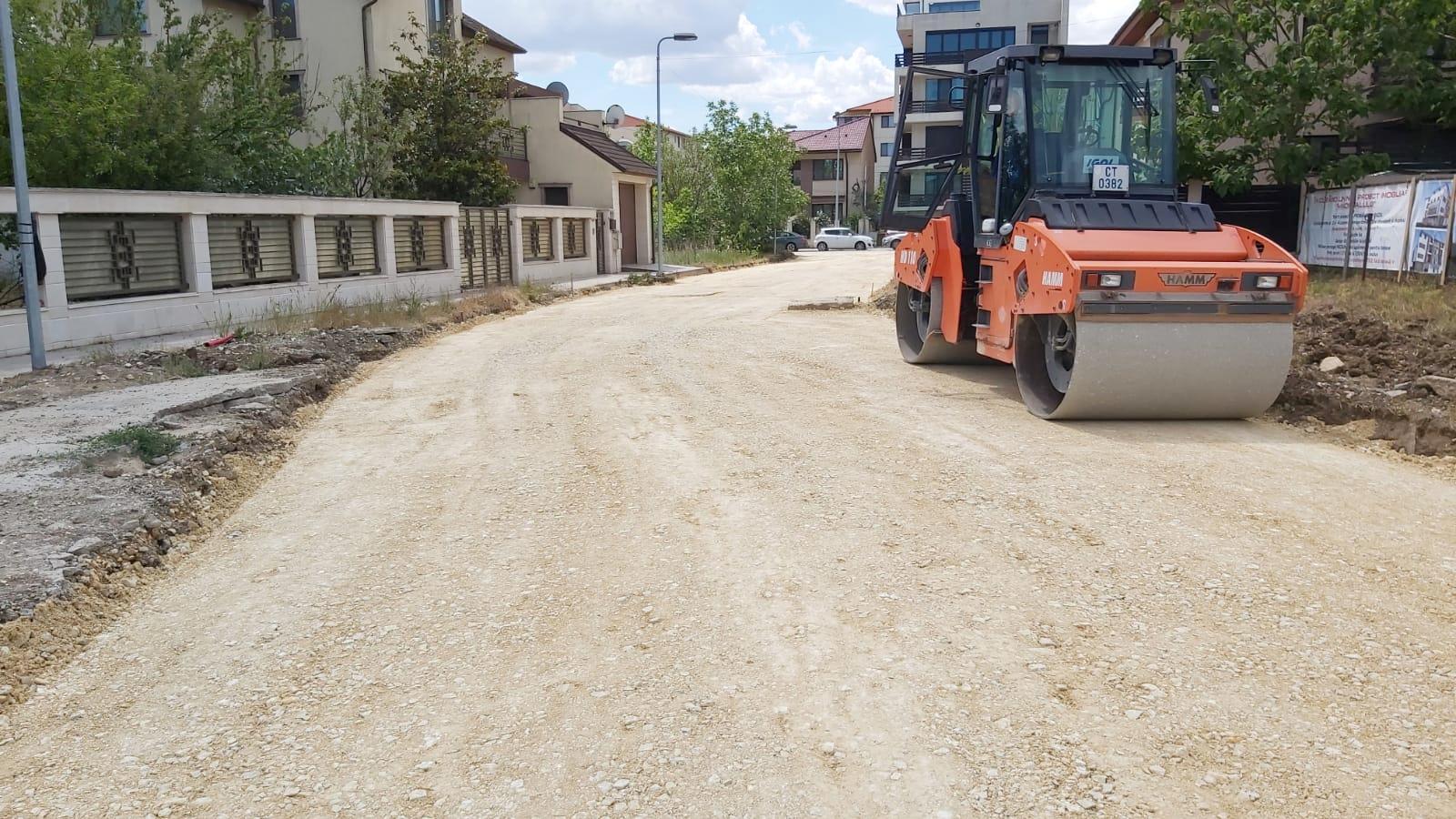 Amenajare infrastructură rutieră străzi cartierul Compozitorilor