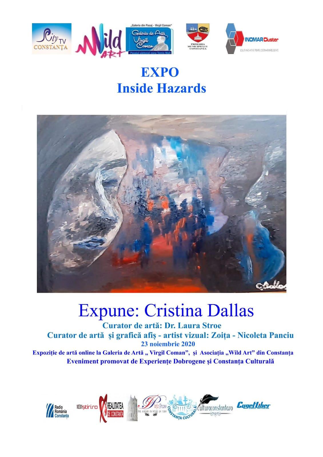 Inside Hazards. Expoziție de artă vizuală